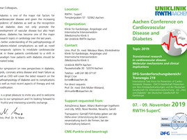 """""""Aachen Conference on Cardiovascular Disease and Diabetes"""", AACHEN"""