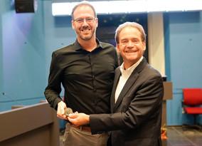 Rogier Veltrop (ESR11) won the HS-BAFTA award