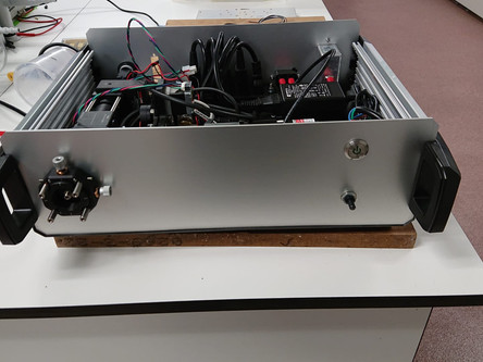 Spectrally resolved depolarization spectra module for the endoscope (UC3M)