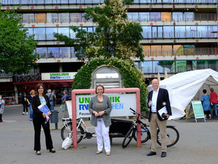 Angela Freimuth, Vizepräsidentin des Landtags NRW, besuchte das Universitätsklinikum der RWTH Aachen