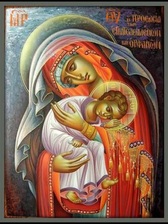Οι Χαιρετισμοί στην Παναγία, με νεοελληνική μετάφραση
