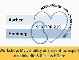 Workshop: My visibility as a scientific expert on LinkedIn & ResearchGate