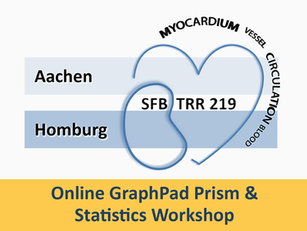 Online GraphPad Prism & Statistics Workshop