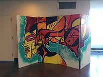 Oakland Street Artist African Urban Mode