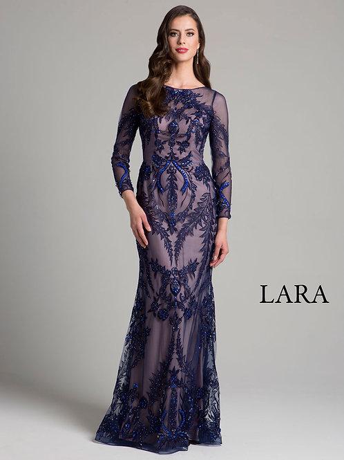 LARA 33269 - Embroidered Dress