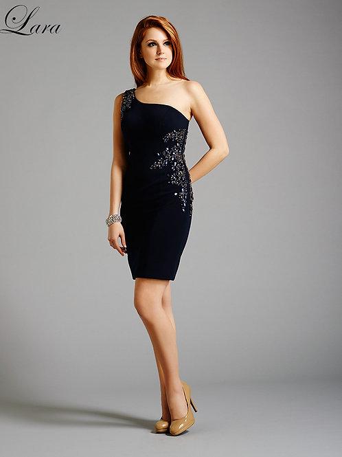 Lara 32438 - One Shoulder Cocktail Dress