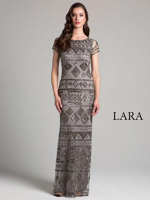 LARA 33037 - Geometric pattern Dress