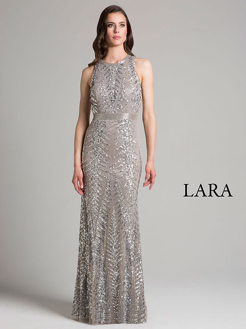 LARA 33260 - Sweep neck with back detail
