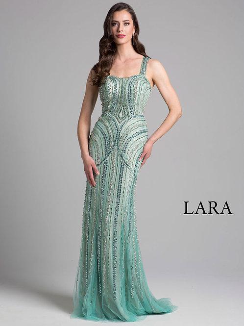 LARA 33201 -Beaded strap dress