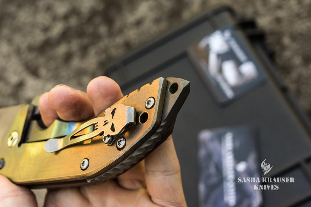 katharsys folding tanto knife punisher