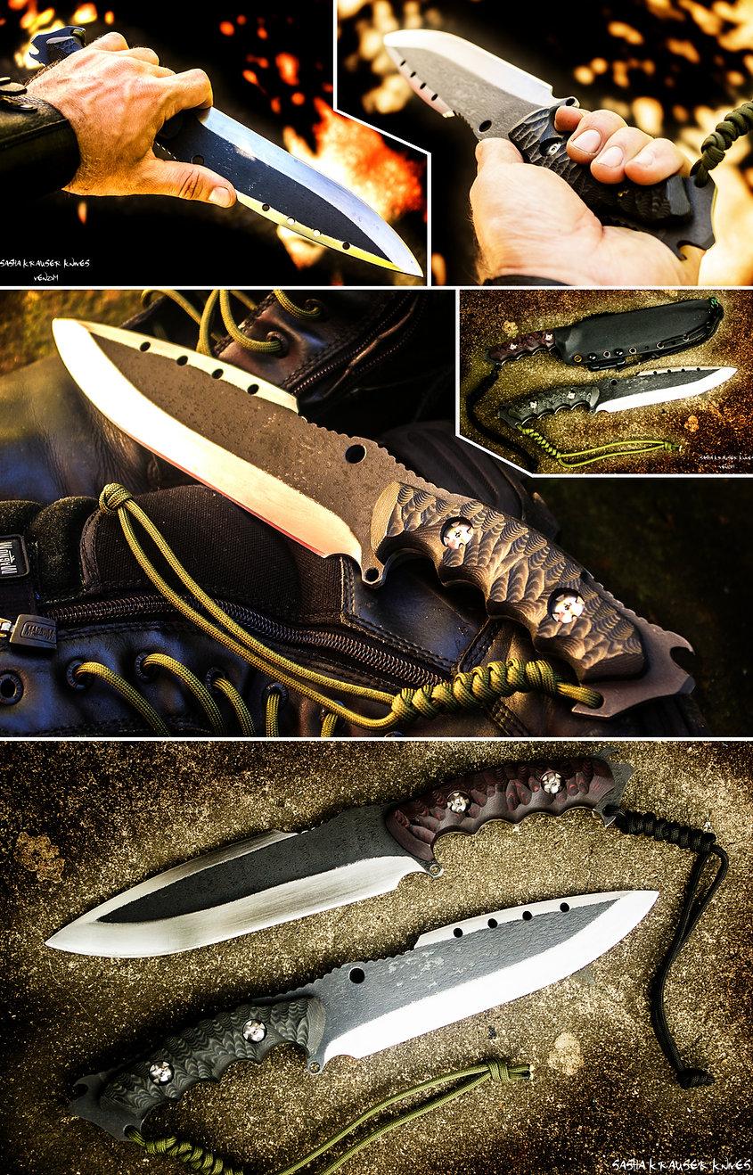 Venom Blackops tactical knife