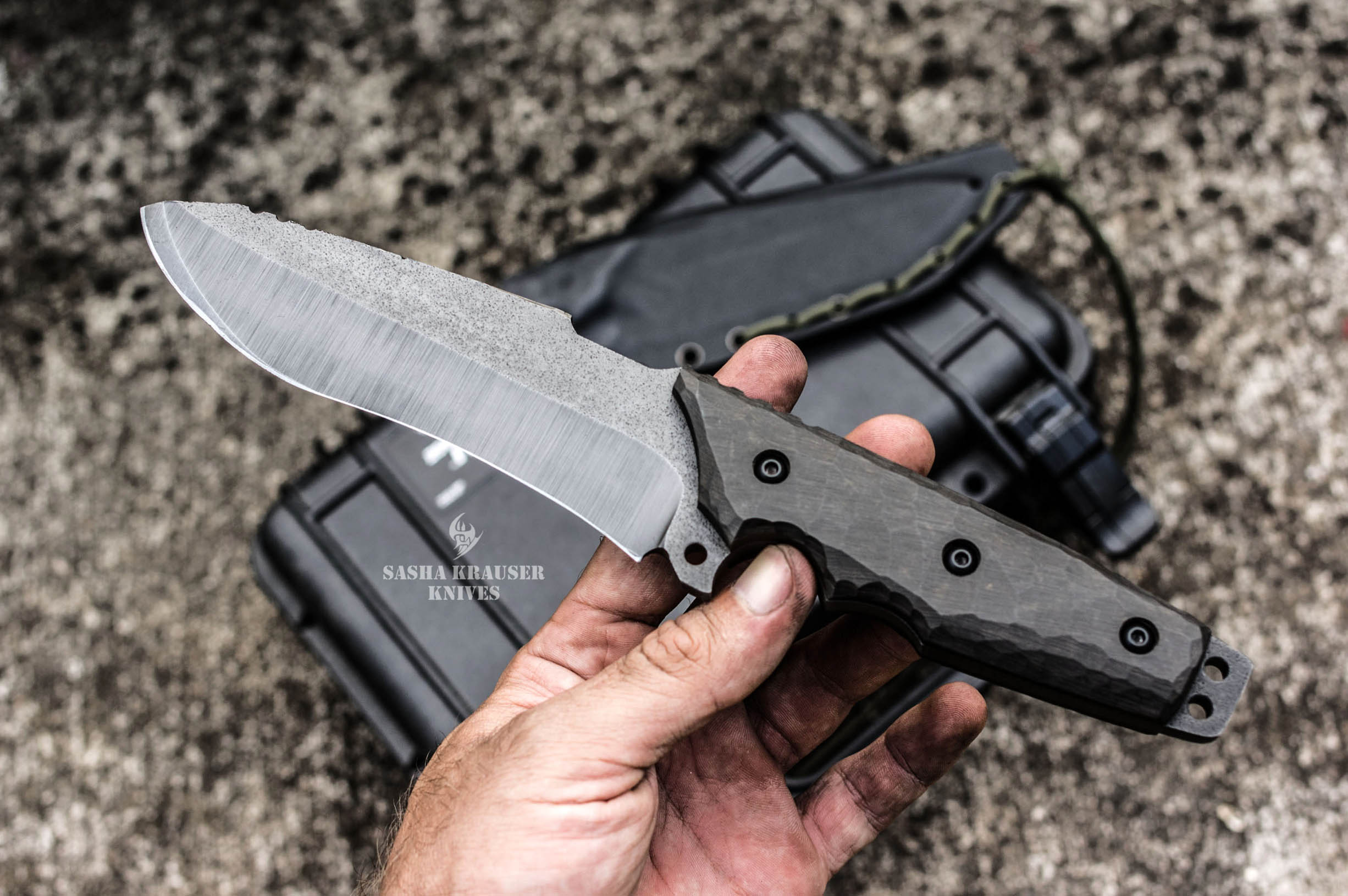Krusader couteau incassable