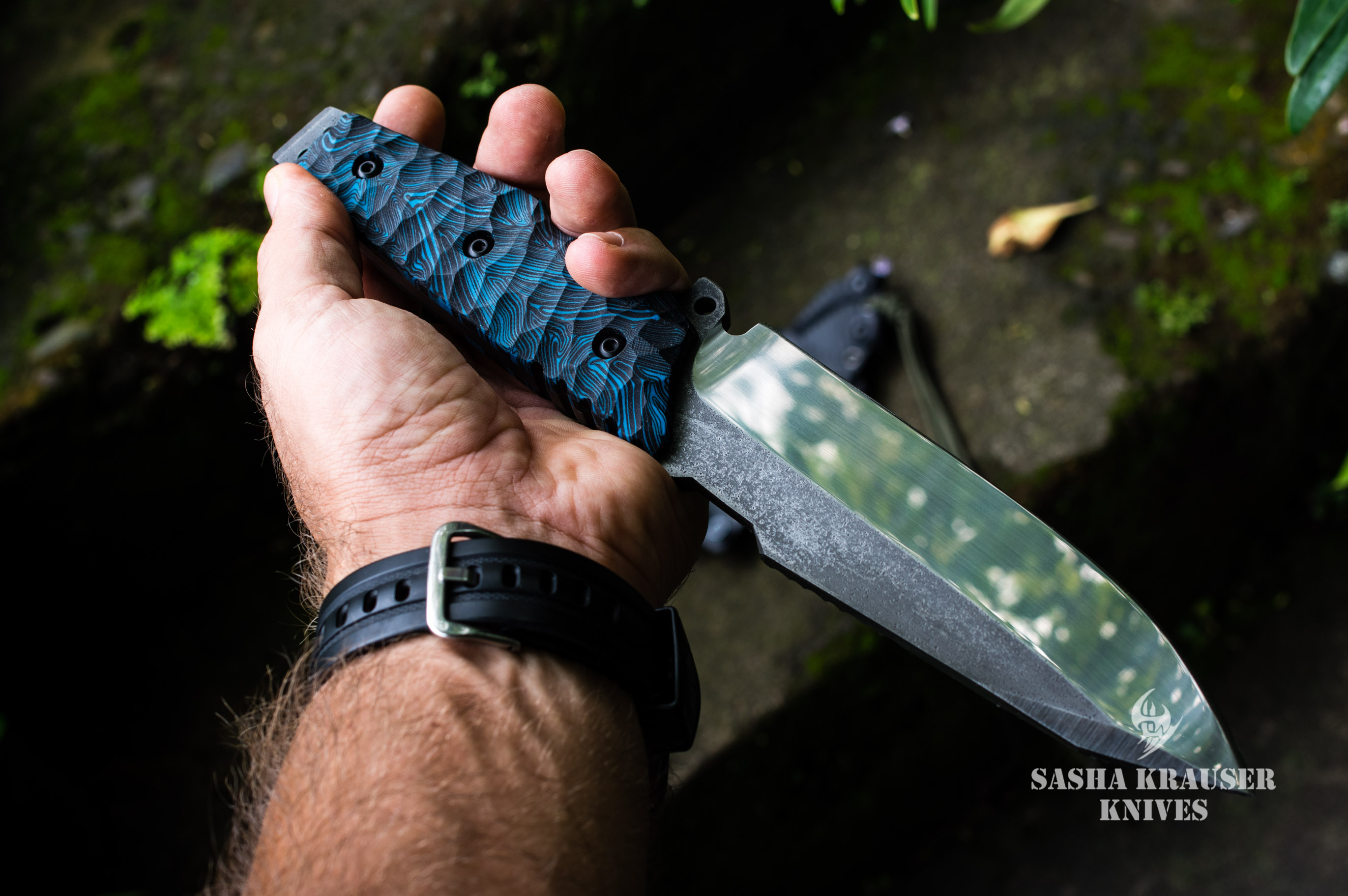 Krusader couteau outdoor indestructible