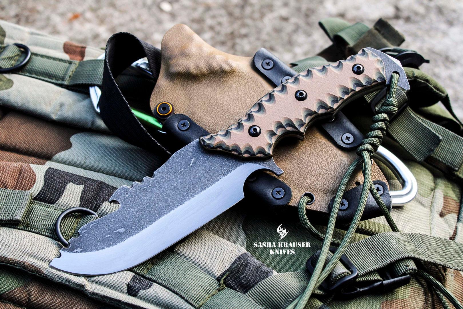 estrela v2 bushcraft knife