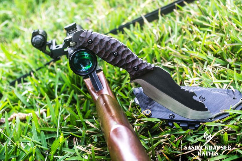 Estrela V2 bushcraft skinnig knife