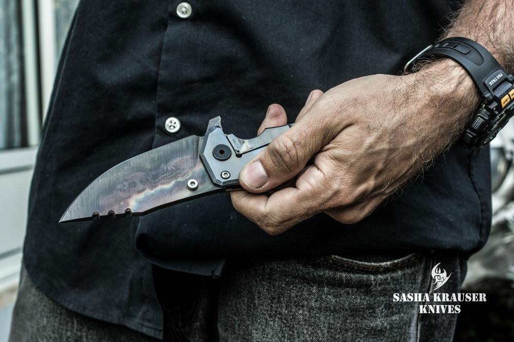 katharsys heavy duty folding knife