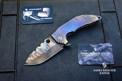 katharsys folding knife with tanto blade