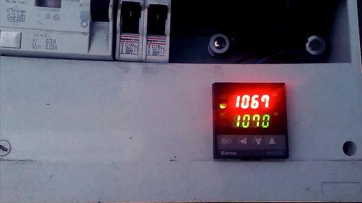 controleur de température