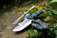 étui kydex artisanal couteau bushcraft