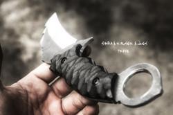 Primal karambit couteau combat