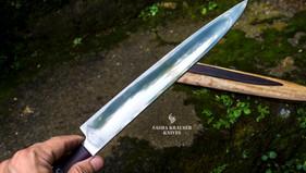 yanagiba couteau japonais Urasuki