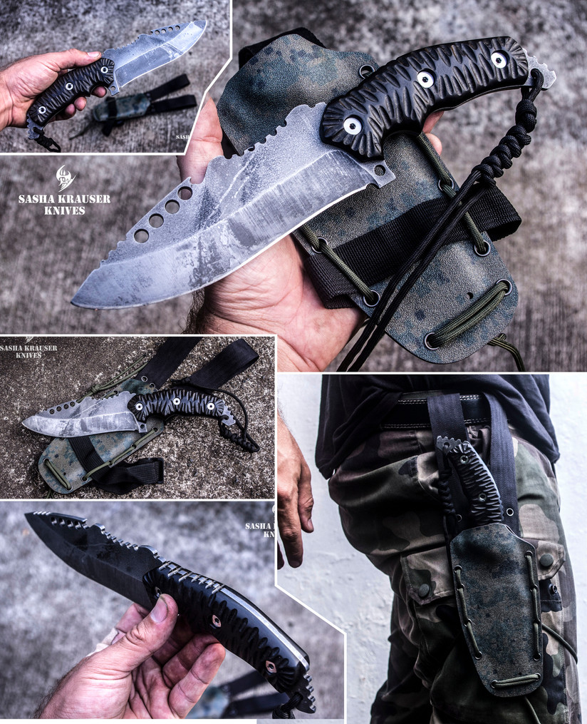 phantom couteau zombie apocalyse
