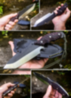 couteau bushcraft tanto camping survie