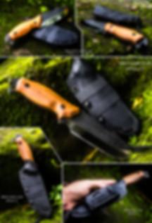 estrela v2 full tang bushcraft knife