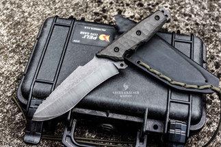 Krusader recurve full tang knife