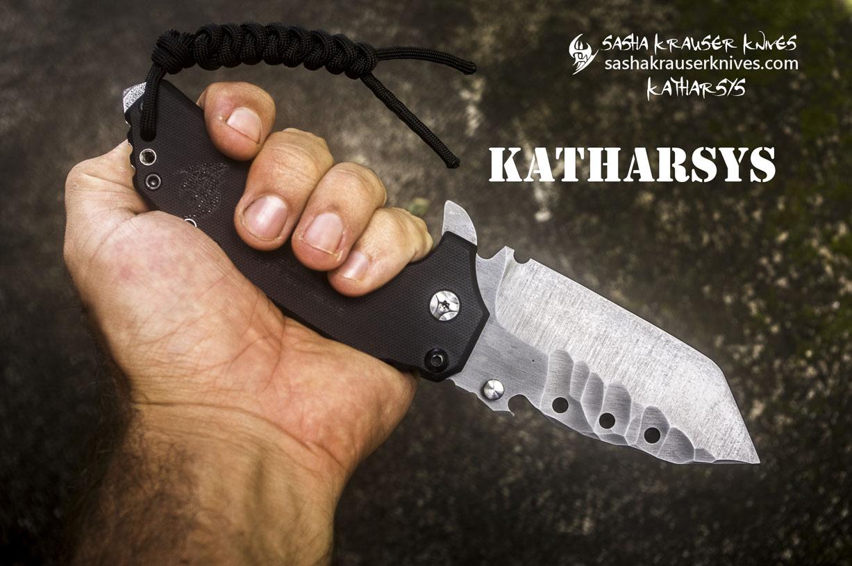 katharsys utility tanto knife