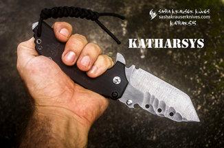 Katharsys folding tanto badass knife