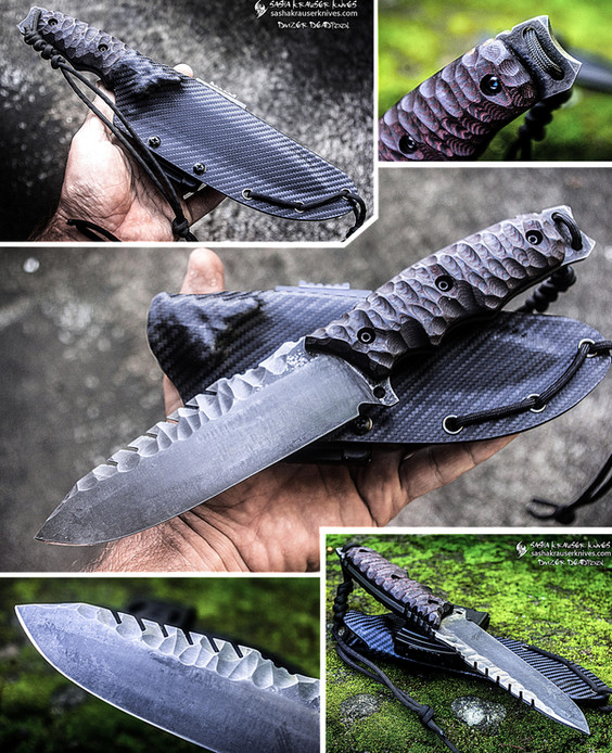 divizer deadpool combat knife
