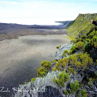 enclos volcan Piton de la Fournaise