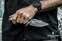 Katharsys drop point folding blade