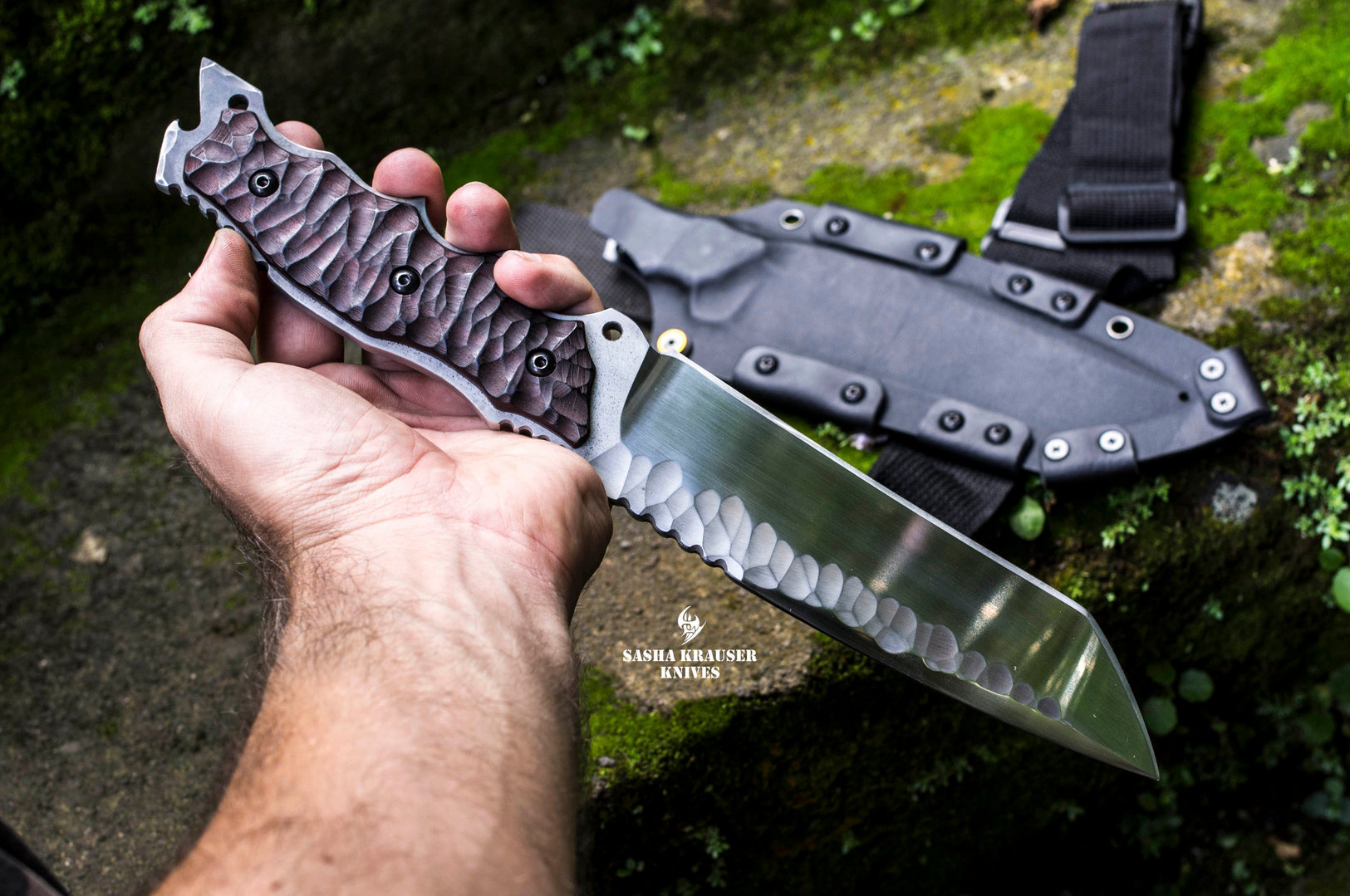 gecko indestructible tanto knife
