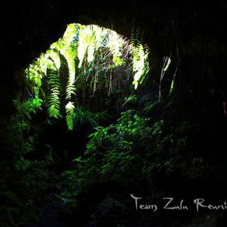 puit de lumière tunnel de lave Réunion