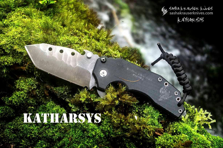Katharsys tatical edc tanto knife