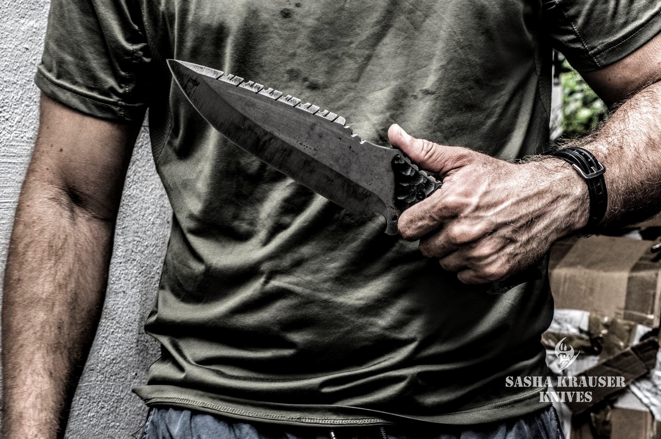 clegan survival hunting knife