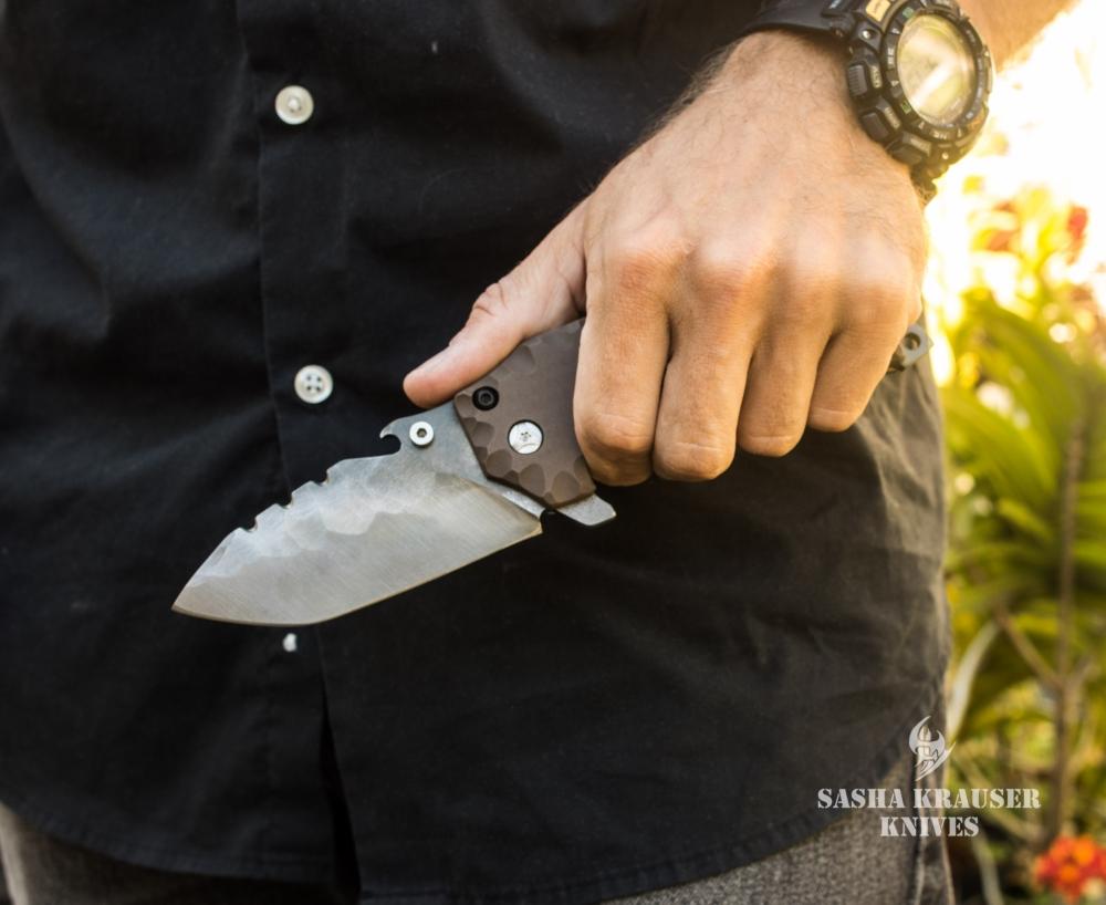 katharsys folding tanto knife