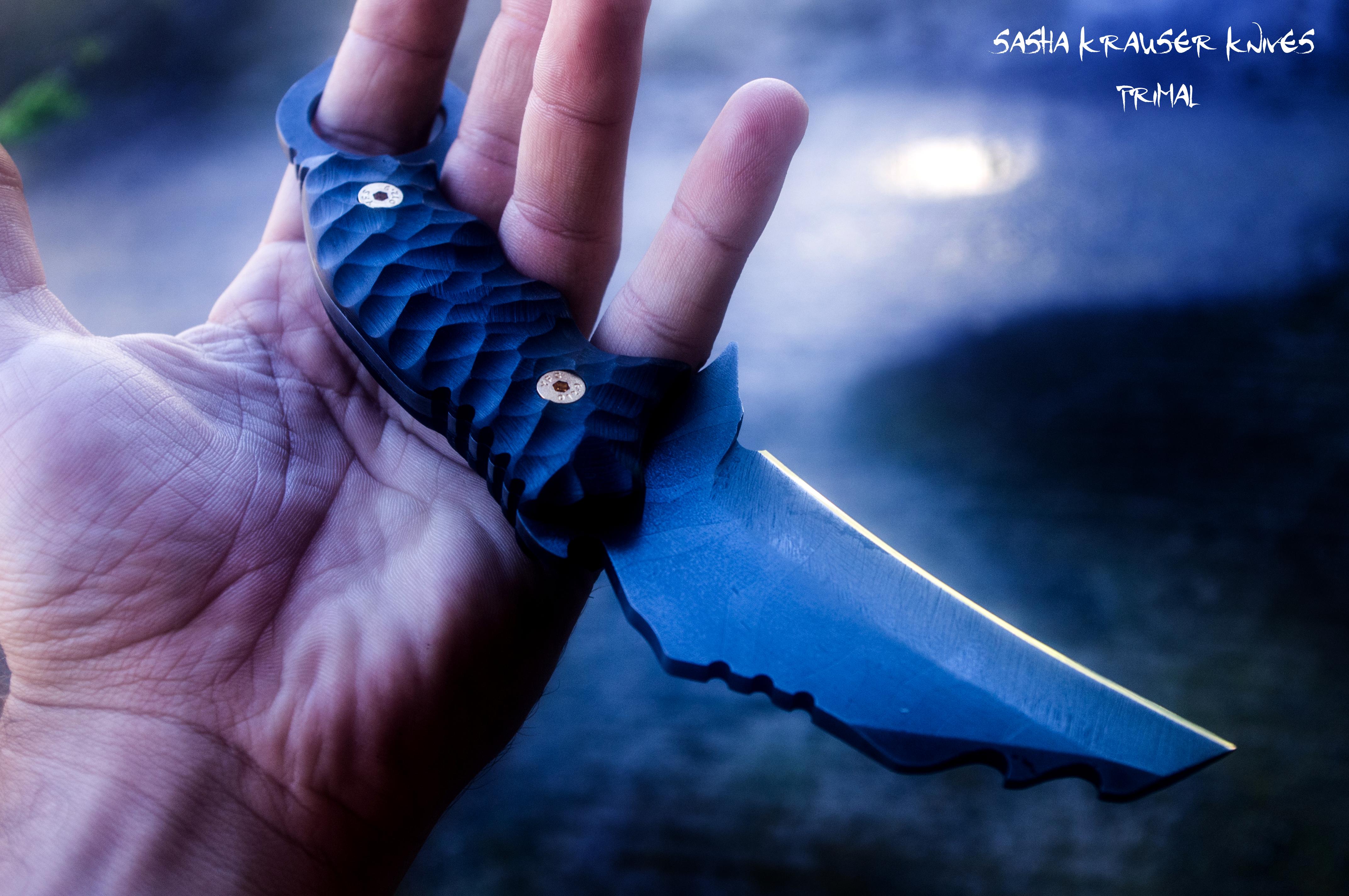 Primal karambit Fighting knife