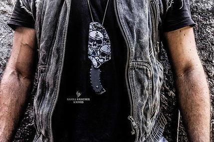 Kydex sheath in neckband