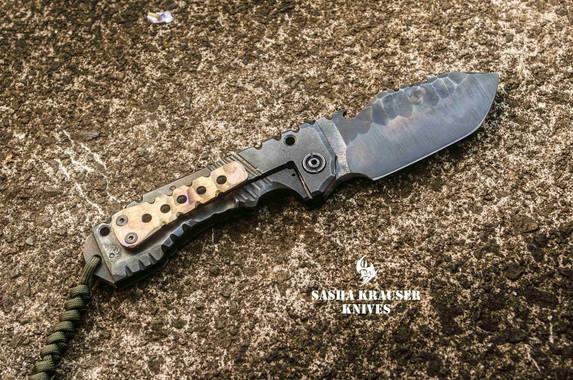 vulkain folding badass tanto knife