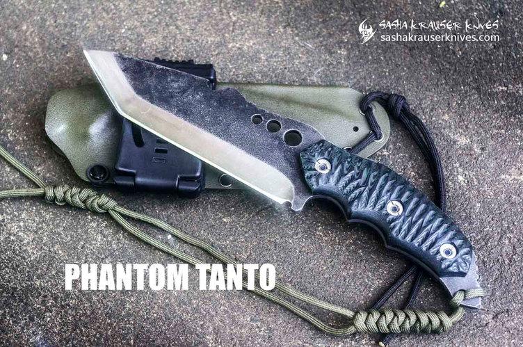 Phantom survival Tanto knife