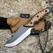 couteau bushcraft plate semelle