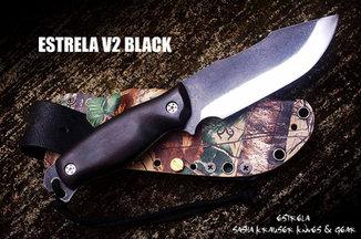 Estrela V2 bushcraft skinning knife