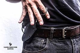 kydex sheath for backup tactical knife