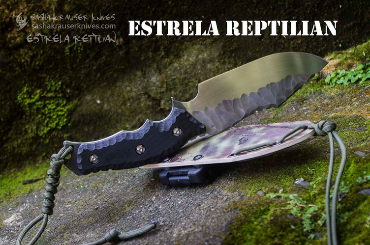 Estrela Reptilian couteau bushcraft