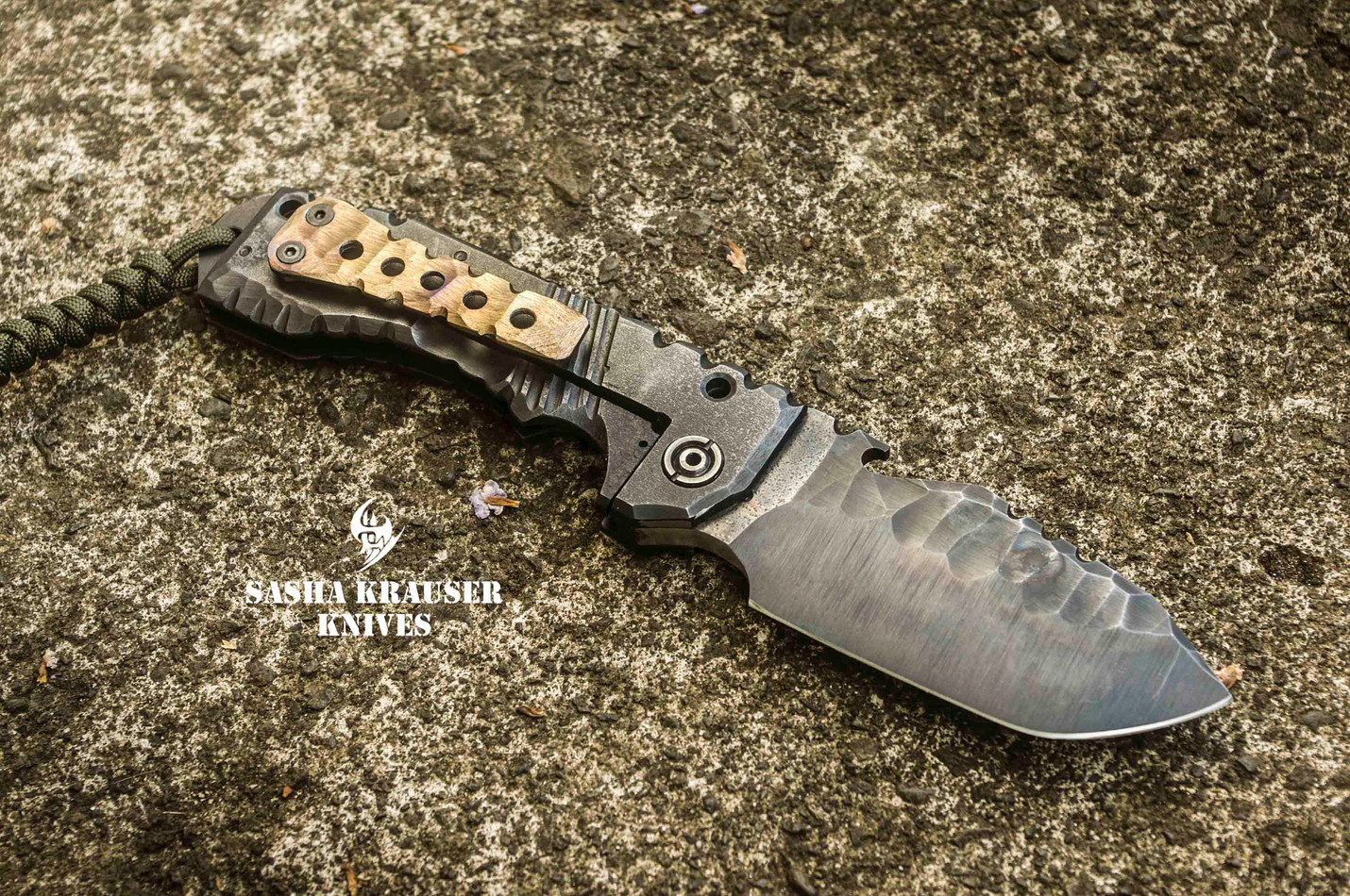 vulkain folding badass tanto knife
