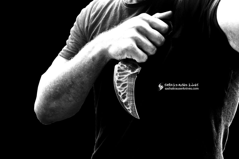la griffe du raptor karambit knife