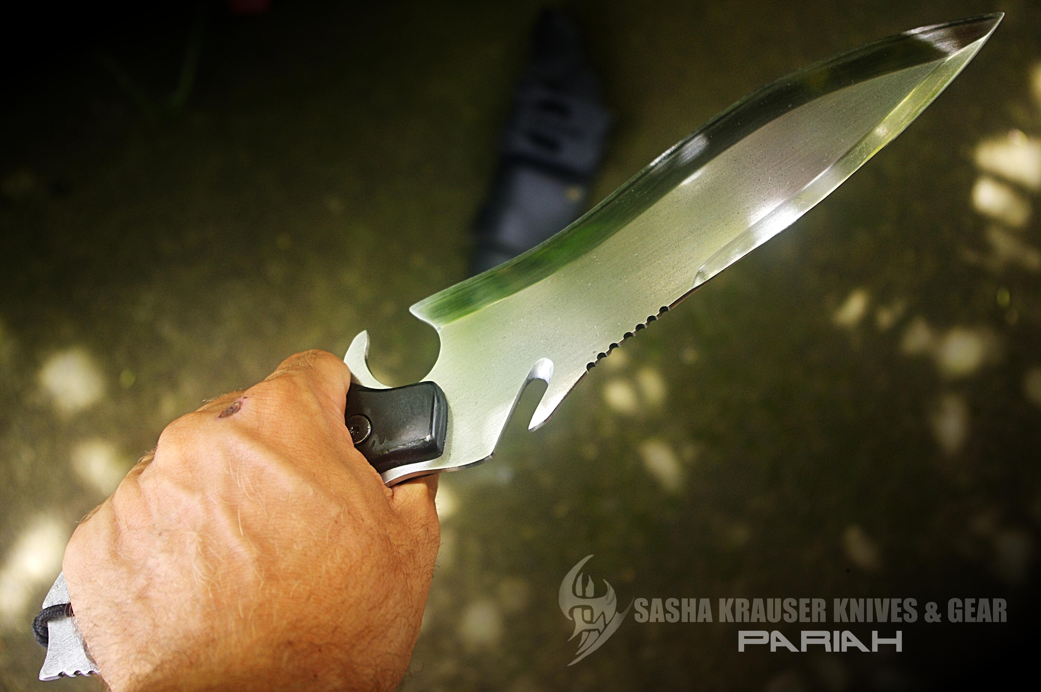Pariah gros couteau combat apoclypse